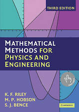Mathematical Methods for Physics and Engineering: A Comprehensive Guide by S. J.