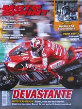 MOTOSPRINT n°42 2007 Aprilia 750 Supermotard Kawasaki Cross 2008   [P72]