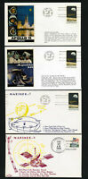 US Lot 10 Space Mission Stamp Covers From 1969