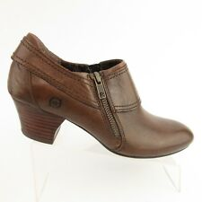 VGC Born Huntley Shootie Cognac Brown Sz 6M Womens Booties Clogs Shoes D14216
