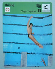 1979 Greg Louganis Sportscaster Card Olympic Team USA Swimming Diving 79-23