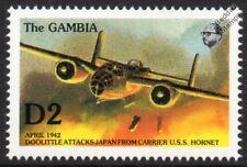 WWII 1942 North American B-25 Mitchell DOOLITTLE RAID Aircraft Stamp