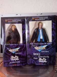 IKON Exclusive Set of 2 Spike & Buffy Action Figure Buffy the Vampire Slayer MAC