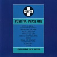 POSITIVA - PHASE ONE various (CD, compilation, 1994) house, techno, hard house,