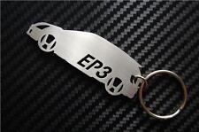 For CIVIC keychain keyring porte-clés I VTEC D SE TYPE R S Si EP3 RC MUGEN K20A2