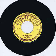 SONNY BURGESS - WE WANNA BOOGIE / RED HEADED WOMAN (Killer SUN label ROCKABILLY)