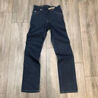 Vintage Lee Raw Made in USA Denim Blue Jeans NOS sz 26 i53