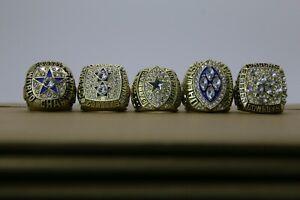 1971 1977 1992 1993 1995 Dallas Cowboys Ring Cowboys Super Bowl Gold Color Ring