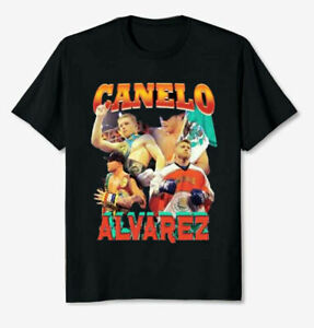 HOT - Canelo Alvarez Boxing Unisex T-shirt Boxer 100% Cotton T Shirt Size S-5XL