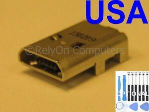 "New Micro USB Charging Port Sync For Amazon Kindle Fire HD8 8"" SG98EG Tablet USA"