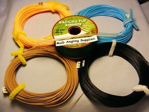 Fly Line Kit with Backing and Loops, Fly Fishing, Choose Type / Weight from Menu