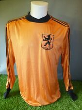 Holland Football Shirt 1980/82 Adult Medium Home Adidas Ventex