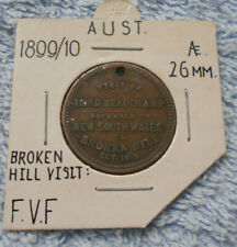 #D392.  1899 GOVERNOR OF NSW  VISIT TO BROKEN HILL MEDAL, QUEEN VICTORIA REVERSE