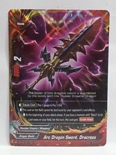 Bushiroad Future Card Buddyfight Arc Dragon Sword, Dracross X-BT03/0011EN RR