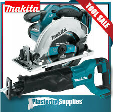 Makita Cordless Saw and Reciprocating Saw Combo 18V LXT Li-Ion XSS02 XRJ04