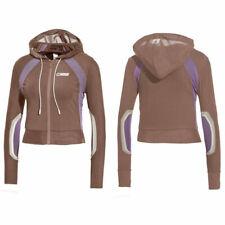 Puma X Rihanna Fenty Womens Panelled Mesh Track Jacket Brown 577304 02 A77D