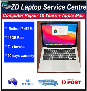 "Apple MacBook Pro Retina 13"" inch Core i7@3.3Ghz 16GB 500GB /1TB SSD Late 2013"