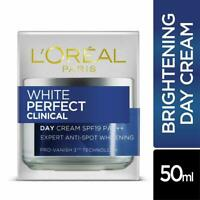 L'Oreal Paris White Perfect Clinical Day Cream SPF19 PA+++, 50ml FREE POST