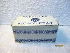 Ancienne boite publicitaire de PASTILLES VICHY-ETAT