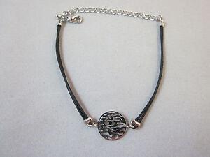 Black String Shema Israel Bracelet Extension chain