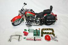 Franklin Mint 1:10 Scale HARLEY-DAVIDSON CHRISTMAS 2003 MOTORCYCLE - LOOSE