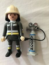 Playmobil Fireman Figures and Extinguisher