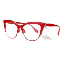 8e357b41f51a9 Deals on red half rim eye glasses