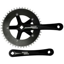 Crank Set Single-Speed Sturmey Archer Track FCT26 1fach 46Z Black 170mm