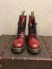 Womens Dr. Martens Red Smooth 1490 US Size 8