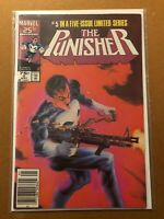 The Punisher 5 (limited series) --(VF+ condition)-- Marvel Comics 1986
