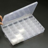 Cross Stitch Organizer Storage Box Sewing Embroidery Floss Tools 36 Grid Holder