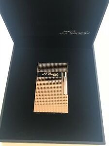 S.T. Dupont Ligne 2 Lighter Pink Gold Diamond Head (016424)