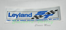 Classic Mini New Valve Cover (Rocker Cover) Leyland Special Tuning Sticker