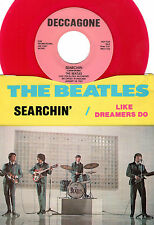 BEATLES-DECCAGONE-1103 (RED WAX)-SEARCHIN/LIKE DREAMERS DO