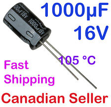 2pcs 1000uF 16V 10x16mm 105C Nichicon HM Ultra Low Impedance For AUDIO PC TV PS