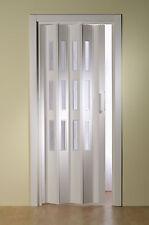 Maß-Falttür mit Fenster Höhe 203-250 cm Breite divers
