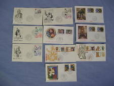 Vatican City 1980 Compete FDC Year Set