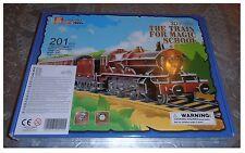 Puzzle 3D tridimensionale Treno locomotiva 5972 Olton Hall per la magica scuola
