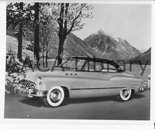 1950 Buick Model 56R Super 2 Door Riviera by lake, Factory Photo (Ref. # 28382)