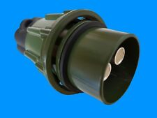 Nato Stecker 2polig +2x 35mm Kontaktbuchse Olivgrün 300A 12/24V