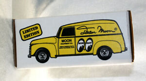 Dean Moon 1950 Chevy Panel Truck Die-Cast 1:25 Bank ERTL Limited Edition MIB