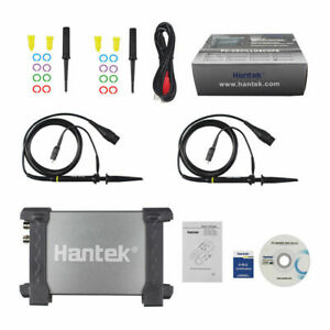 2CH 20Mhz Bandwidth Hantek PC Based USB Digital Storage Oscilloscope 6022BE