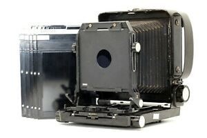 【EXC+++++】 TOYO FIELD 45A Large Format Camera w/ 4x5 Cut Film Holders From JAPAN