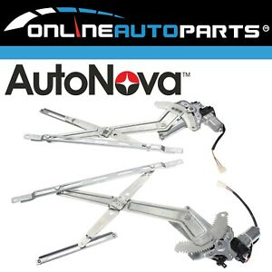 Pair Front Electric Window Regulator with Motor suits Ford Ranger PJ PK 2006~11