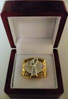 Dexter Jackson - 2002 Tampa Bay Buccaneers Super Bowl Ring WITH Wooden Box