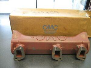 OMC EXHAUST MANIFOLD ASSEMBLY 0979759 SHELFJ15