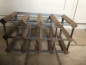 Wood/metal Wine Rack/Storage