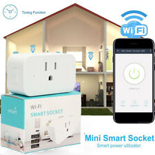 Mini Wifi Smart Plug Wireless Power Socket Timer Outlet  Alexa Google Home Echo