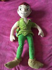 💚Disney Store véritable peluche «Peter Pan» poupée molle 22» Long! 💚