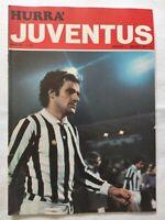 HURRA' JUVENTUS N. 5 MAGGIO 1977 COPPA UEFA AEK ATENE GIUSEPPE FURINO CUCCUREDDU